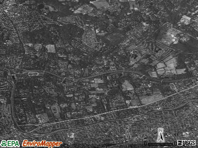 Old Westbury satellite photo by USGS