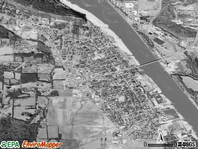 Dardanelle satellite photo by USGS