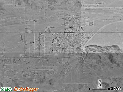 Pittsfield satellite photo by USGS