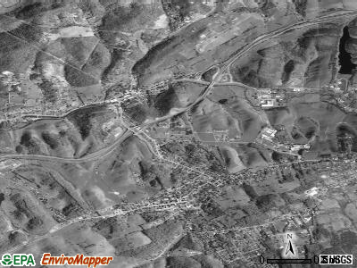 Tazewell satellite photo by USGS