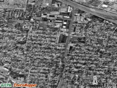 Woodson Terrace satellite photo by USGS