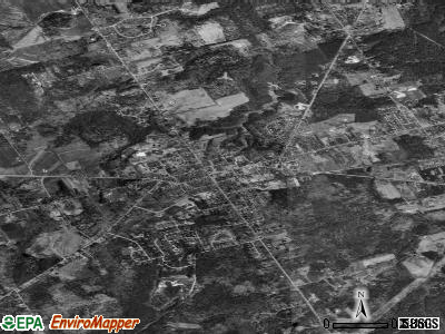 Gorham satellite photo by USGS