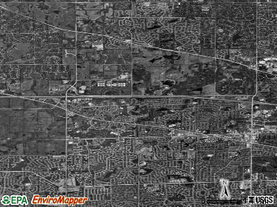 Hoffman Estates satellite photo by USGS