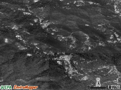 Boulder Creek satellite photo by USGS