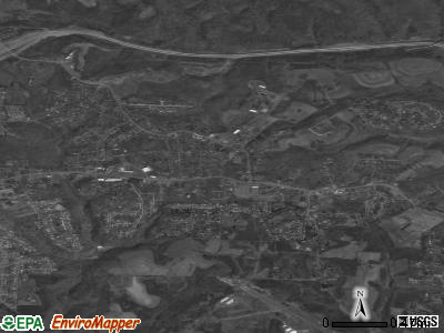 Wintersville satellite photo by USGS