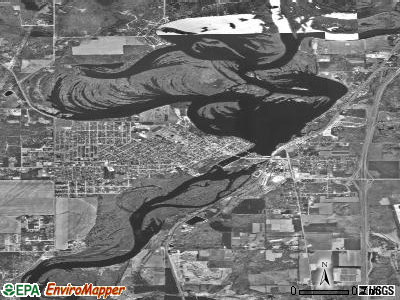 Mosinee satellite photo by USGS