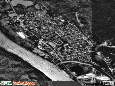 Ravenswood satellite photo by USGS