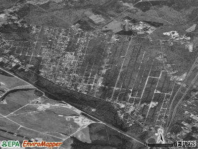 Pomona satellite photo by USGS
