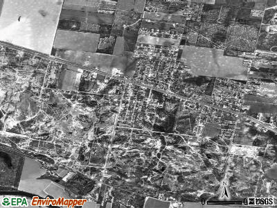 Sullivan City satellite photo by USGS