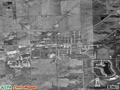 Minooka satellite photo by USGS