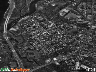Nowata satellite photo by USGS