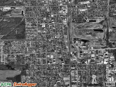 South Chicago Heights satellite photo by USGS