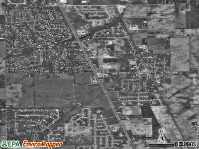 Whiteland satellite photo by USGS