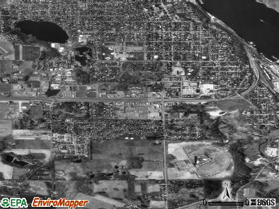 Oak Park Heights satellite photo by USGS