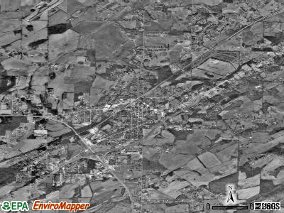 Boyertown satellite photo by USGS
