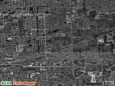Tinley Park satellite photo by USGS
