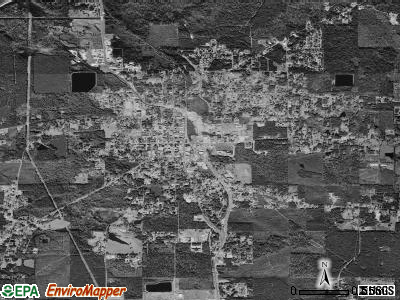 Jonesboro satellite photo by USGS