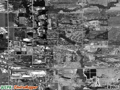 Coopersville satellite photo by USGS