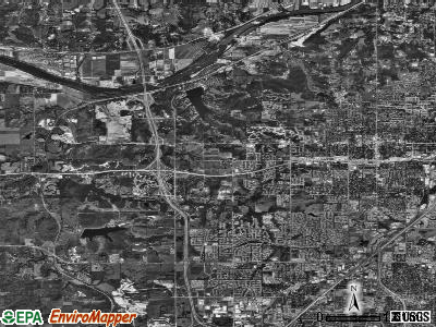 Shawnee satellite photo by USGS