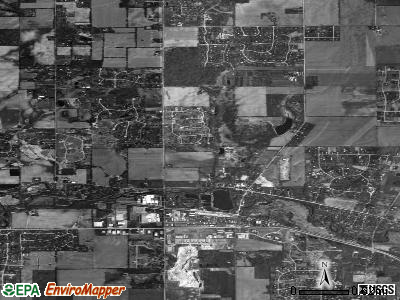 Spring Grove satellite photo by USGS