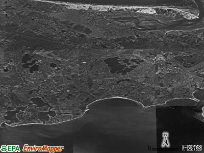Barnstable Town satellite photo by USGS