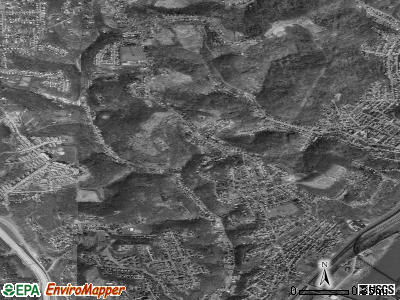 Reserve Township satellite photo by USGS