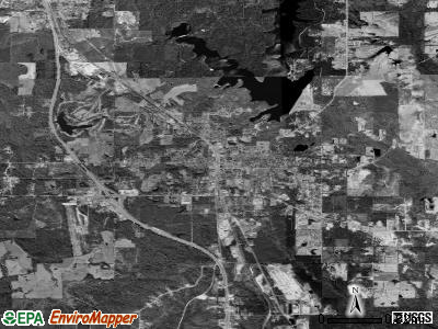 Wiggins satellite photo by USGS