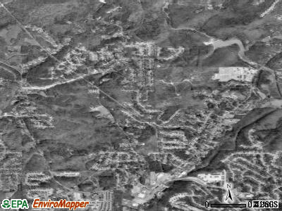 Chalkville satellite photo by USGS