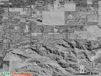 Indian Wells satellite photo by USGS