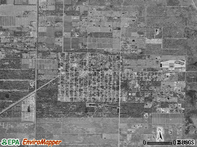 Fellsmere satellite photo by USGS
