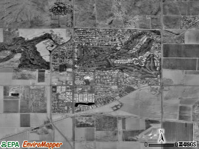 Litchfield Park satellite photo by USGS