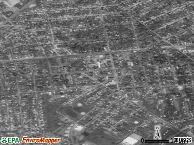 Merchantville satellite photo by USGS