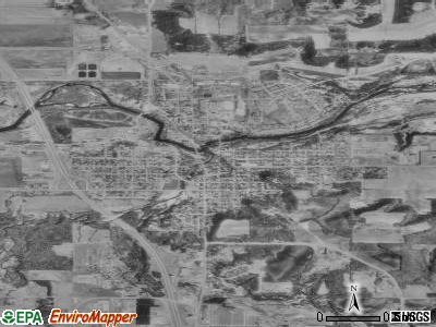 Cannon Falls satellite photo by USGS
