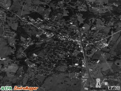 Bellville satellite photo by USGS