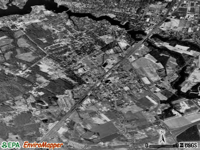 Fruitland satellite photo by USGS