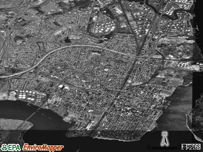 Perth Amboy satellite photo by USGS