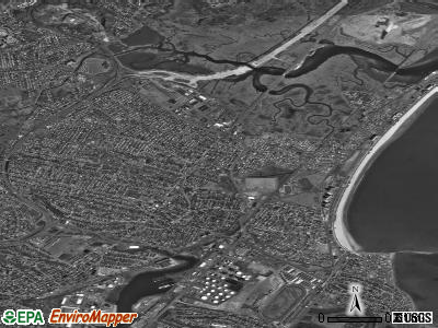 Revere satellite photo by USGS