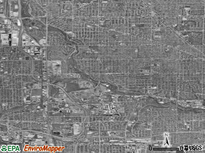 Wauwatosa satellite photo by USGS