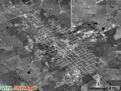 Jourdanton satellite photo by USGS