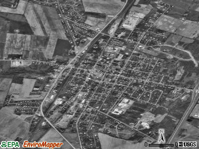 Greencastle satellite photo by USGS