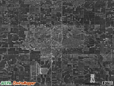 Enid satellite photo by USGS