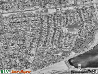 North El Monte satellite photo by USGS