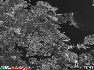 Selby-on-the-Bay satellite photo by USGS