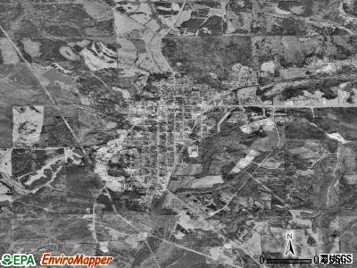 Union Springs satellite photo by USGS