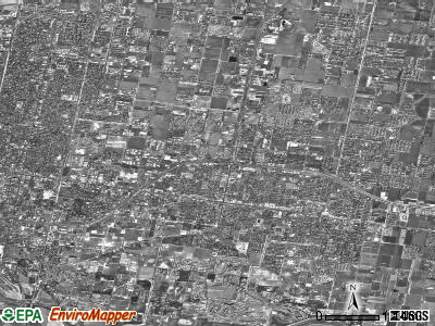 Pharr satellite photo by USGS