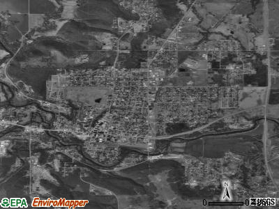 Pawhuska satellite photo by USGS