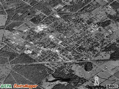 Sweeny satellite photo by USGS
