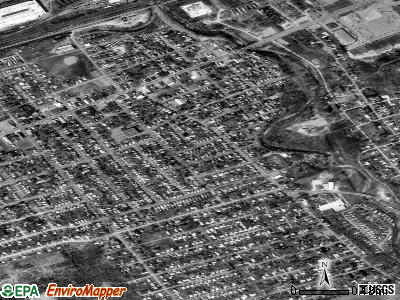 Wesleyville satellite photo by USGS