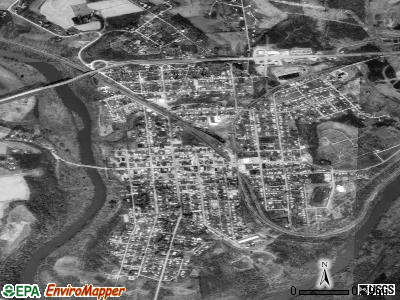 Blairsville satellite photo by USGS