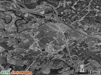 Alexandria satellite photo by USGS